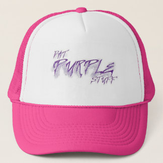 紫色 キャップ