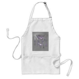 紫色 スタンダードエプロン