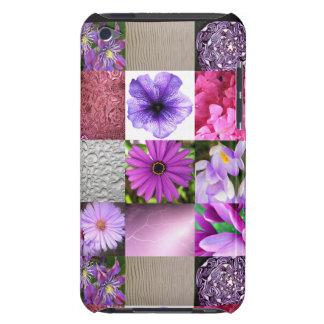 紫色/ピンクの写真のコラージュ Case-Mate iPod TOUCH ケース