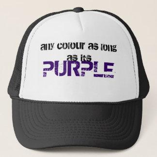 紫色、色限り キャップ