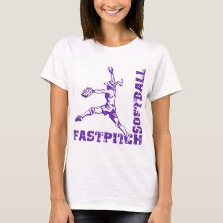 紫色Fastpitchのコーナー Tシャツ