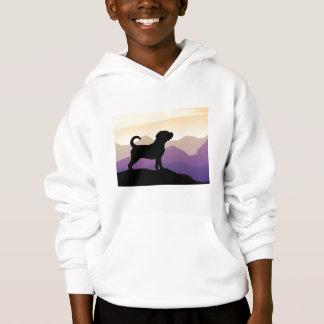 紫金山のPuggle犬