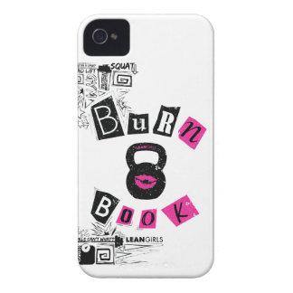 細い女の子の焼跡の本 Case-Mate iPhone 4 ケース