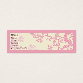 細い桜- スキニー名刺