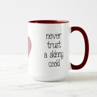 細い調理師のコーヒー・マグ マグカップ