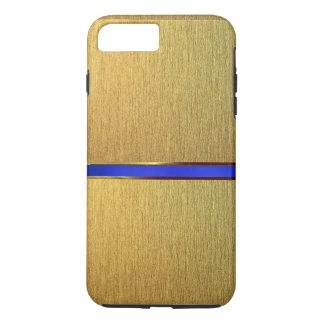 細い金ゴールドのデザインの場合 iPhone 8 PLUS/7 PLUSケース