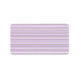 細い100: 芸術的で柔らかい色パターン 宛名ラベル