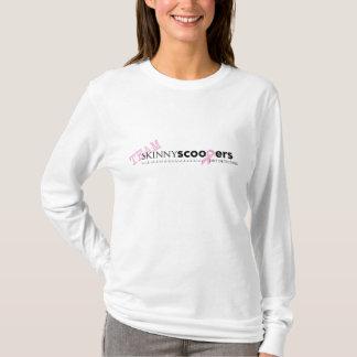 細いScoopersの治療のための競争 Tシャツ