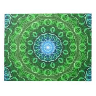 細胞の成長の曼荼羅 ノートパッド