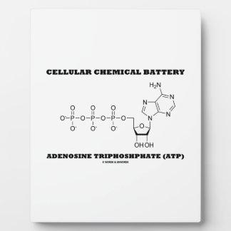 細胞化学電池のアデノシン三リン酸 フォトプラーク
