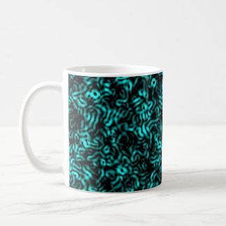 細胞青 コーヒーマグカップ