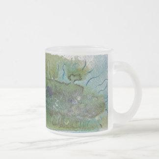 細菌によって曇らされるマグ フロストグラスマグカップ