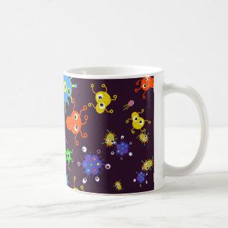 細菌の壁紙 コーヒーマグカップ