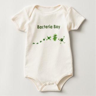 細菌のBoy®の乳児のクリーパー ベビーボディスーツ