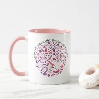 細菌学者を愛して下さい マグカップ