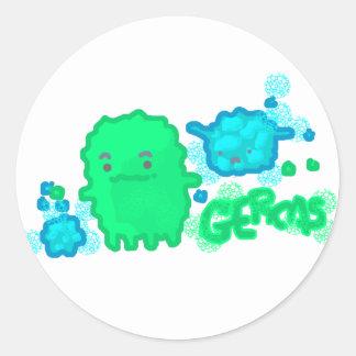 細菌! ラウンドシール