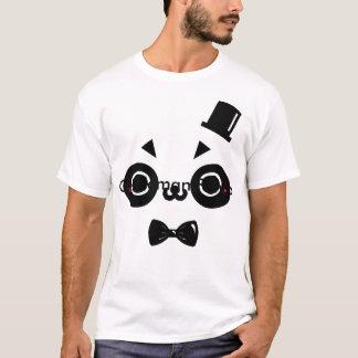 紳士のパンダ Tシャツ
