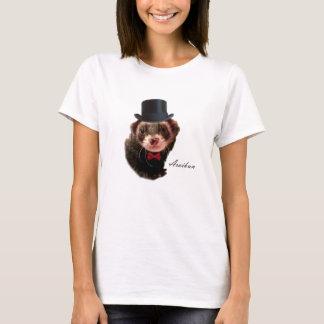 紳士のフェレットのTシャツ Tシャツ