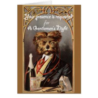 紳士の夜(バチュラーパーティ) カード