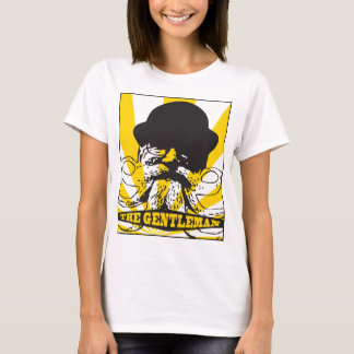 紳士の黄色 Tシャツ