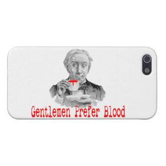 紳士は血を好みます iPhone 5 ケース