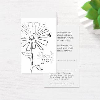 紹介はsquiggleの花感謝していしています 名刺