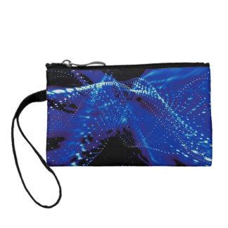 紺碧の青い波長の鍵の財布