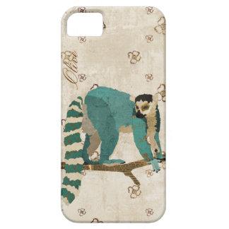 紺碧のLemurのiPhoneの箱 iPhone SE/5/5s ケース