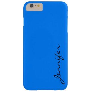 紺碧色の背景 BARELY THERE iPhone 6 PLUS ケース