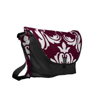 紺碧VIのRhoの(赤すみれ色の)メッセンジャーバッグ メッセンジャーバッグ
