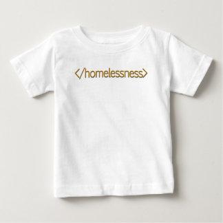 終わりのホームレス ベビーTシャツ