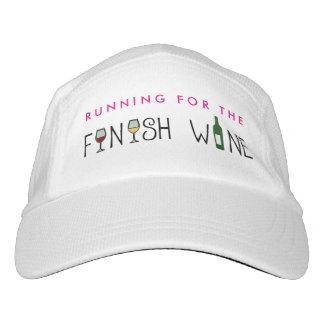 終わりのワインのために走ること ヘッドスウェットハット