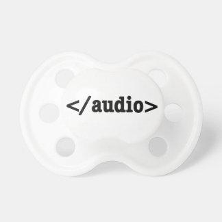 終わりの可聴周波HTML5コード おしゃぶり