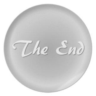 終わりの灰色 プレート