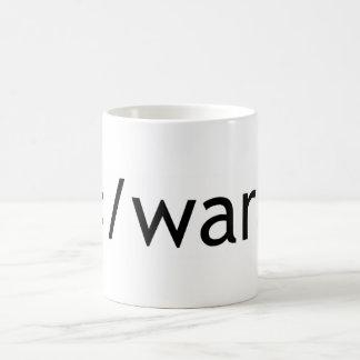終わり戦争 コーヒーマグカップ