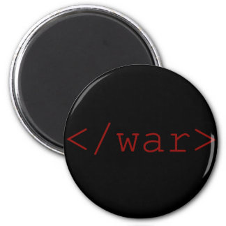 終わり戦争(HTMLで) マグネット