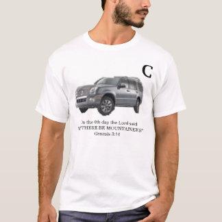 終わる登山者 Tシャツ
