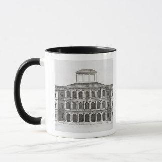 終わるQuirinaleのPalazzo Barberini 1630年 マグカップ