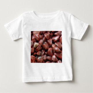 終了する赤い石 ベビーTシャツ
