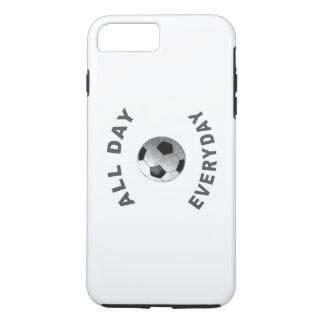 終日の毎日のサッカーR iPhone 8 PLUS/7 PLUSケース