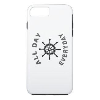 終日の毎日の航行の車輪 iPhone 8 PLUS/7 PLUSケース