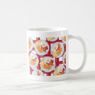 終日の英国式朝食 コーヒーマグカップ