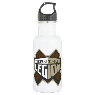 終点軍隊のロゴ ウォーターボトル
