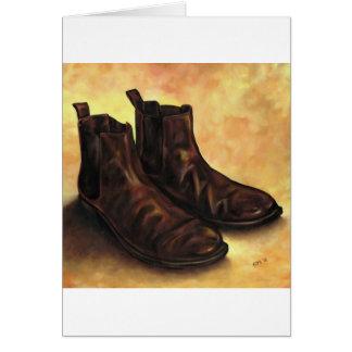 組のチェルシーのブーツ カード