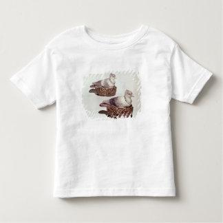 組の(犬)スタッフォード陶器の深皿 トドラーTシャツ
