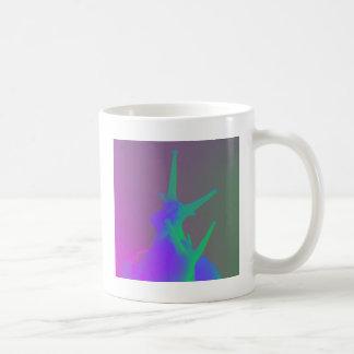 組のpsychadelic色のかたつむり コーヒーマグカップ
