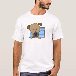 組み立てられた漫画Rhodesian Ridgeback Tシャツ