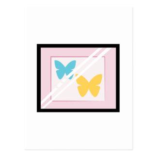 組み立てられた蝶 ポストカード