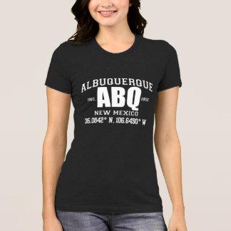組み込まれるアルバカーキ都市はティーを調整します Tシャツ