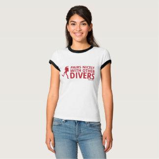 組ニース他のダイバーと Tシャツ